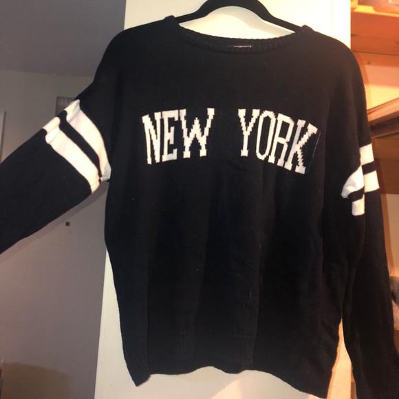 Brandy Melville Sweaters New York Sweater Poshmark